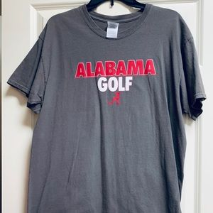 Alabama Crimson Tide Alabama Golf Tshirt L